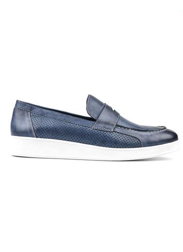 %100 Deri Casual Ayakkabı Riccardo Colli
